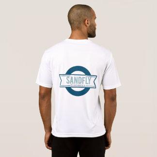 Camiseta T-shirt do esporte de Geórgia do Sandfly