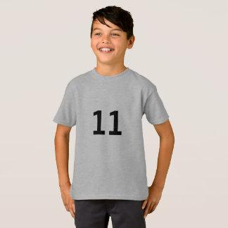 Camiseta T-shirt do esporte dos meninos personalizado