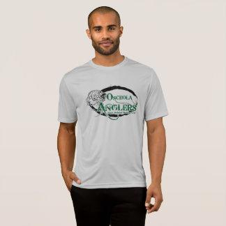 Camiseta T-shirt do Esporte-Tek dos homens