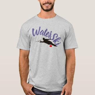 Camiseta T-shirt do esqui de água do slalom