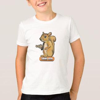 Camiseta T-shirt do esquilo dos miúdos