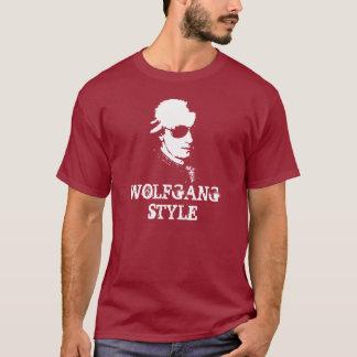 Camiseta T-shirt do estilo de Wolfgang