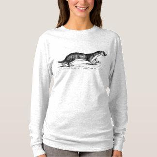 Camiseta T-shirt do estilo do artesão de Woodblock da