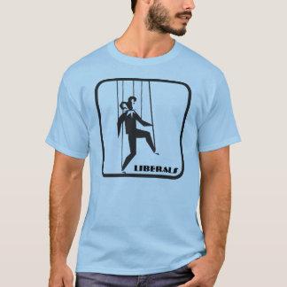 Camiseta T-shirt do fantoche do palhaço dos liberais