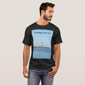Camiseta T-shirt do farol da ilha do fogo