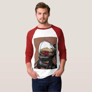 Camiseta T-shirt do farol do carro dos homens