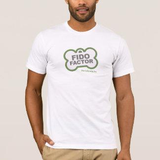 Camiseta T-shirt do fator de Fido