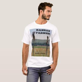 Camiseta T-shirt do fazendeiro de Kansas