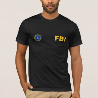 Camiseta T-shirt do FBI