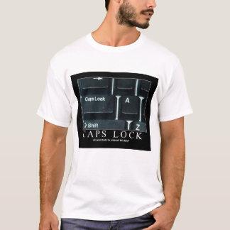 Camiseta T-shirt do fechamento de bonés
