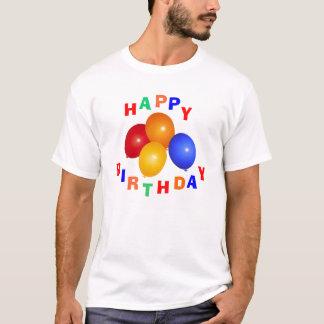 Camiseta T-shirt do feliz aniversario