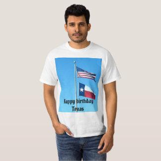 Camiseta T-shirt do feliz aniversario TX
