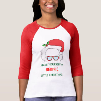 Camiseta T-shirt do feriado das máquinas de lixar de Bernie