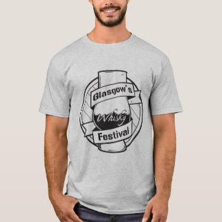Camiseta T-shirt do festival do uísque de Glasgow