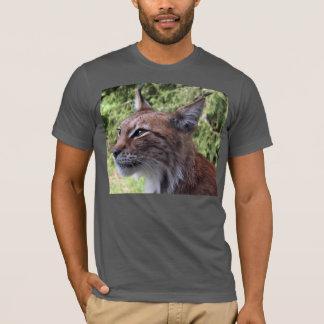 Camiseta T-shirt do Fim-Acima da cara do lince