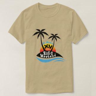 Camiseta T-shirt do fim de semana XV da cevada - bola de