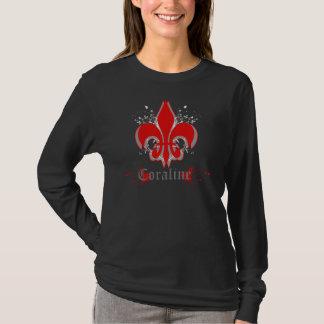 Camiseta T-shirt do Fleur de Coraline