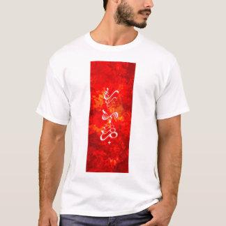 Camiseta T-shirt do fogo
