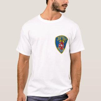 Camiseta T-shirt do fogo do búfalo