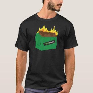 Camiseta T-shirt do fogo do contentor