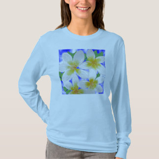 Camiseta T-shirt do Frangipani