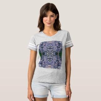 Camiseta T-shirt do futebol das mulheres