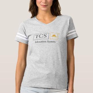 Camiseta T-shirt do futebol das mulheres do sistema de