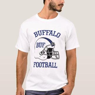 Camiseta T-shirt do futebol do búfalo para homens e