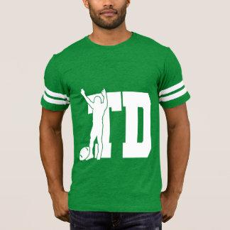 Camiseta T-shirt do futebol do TD