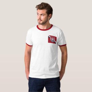 Camiseta T-shirt do futebol dos E.U.