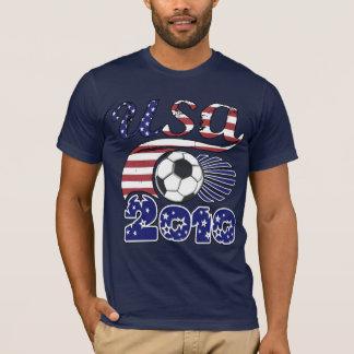 Camiseta T-shirt do futebol dos EUA