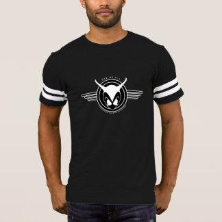 Camiseta T-shirt do futebol dos homens invertidos do