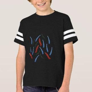 Camiseta T-shirt do futebol dos miúdos do ramo