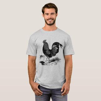 Camiseta T-shirt do galo do país do vintage dos homens