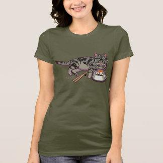 Camiseta T-shirt do gatinho do hipster (sem texto)