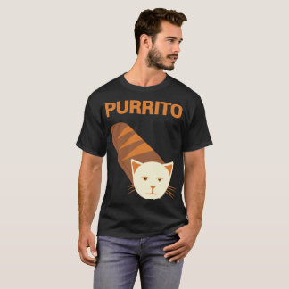 Camiseta T-shirt do gato da novidade do gato de Purrito