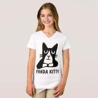 Camiseta T-shirt do gato do GATINHO da PANDA
