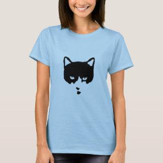 Camiseta T-shirt do gato do smoking