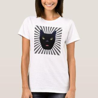 Camiseta T-shirt do gato preto