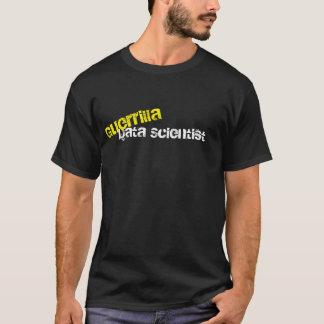 Camiseta T-shirt do geek do cientista dos dados da