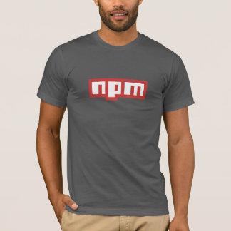 Camiseta T-shirt do gerente do pacote do nó (cinza escuro)