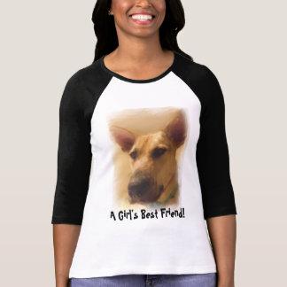 Camiseta T-shirt do german shepherd do melhor amigo | de