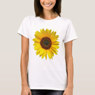 Camiseta T-shirt do girassol