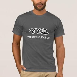 Camiseta T-shirt do golfe com citações engraçadas