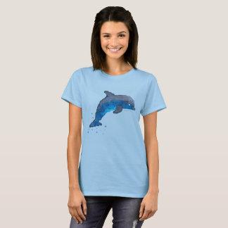 Camiseta T-shirt do golfinho das mulheres