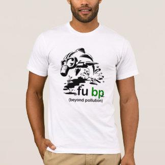 Camiseta t-shirt do golfinho do derramar de óleo do fubp