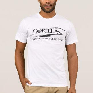Camiseta T-shirt do gorila dos homens