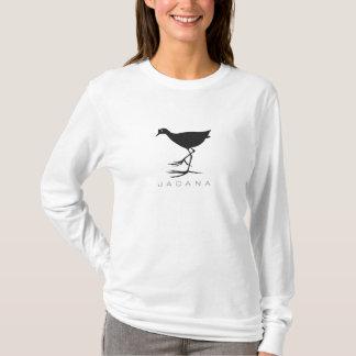 Camiseta T-shirt do gráfico da silhueta do pássaro de