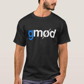 Camiseta T-shirt do gráfico de Gmod