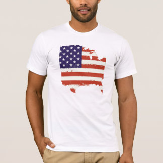 Camiseta T-shirt do gráfico do Dia da Independência